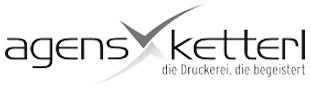 Logo agensketterl grau