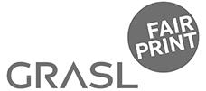 Logo Grasl FairPrint grau