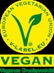 V-Label vegane Druckprodukte
